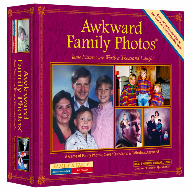 awkward family photos board game Pinboard