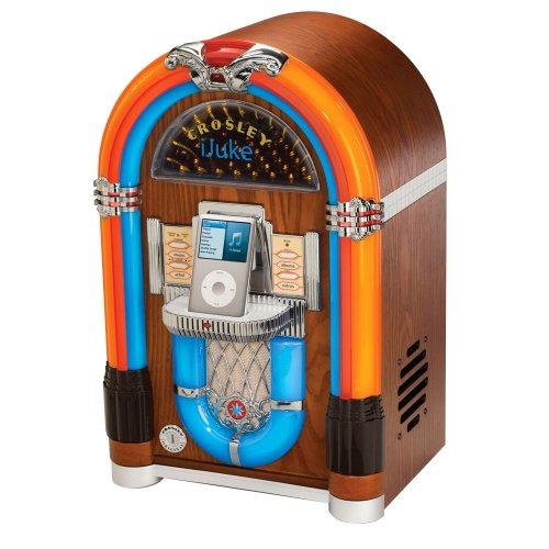 Crosley Ijuke Tabletop Ipod Jukebox Craziest Gadgets