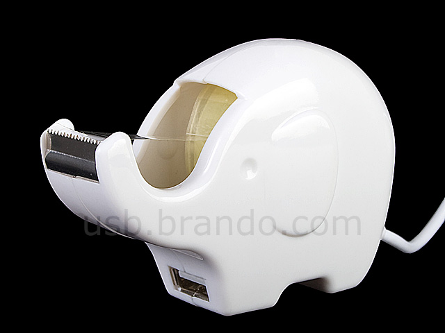 Elephant Tape Dispenser and USB Port