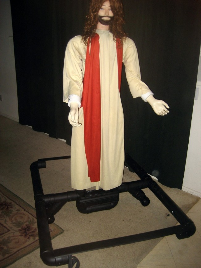 Jesus Walking on the Water Robot