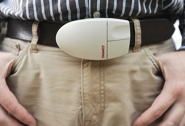 Computer Mouse Belt Buckle Keeps Your Pants Up Above the Joystick