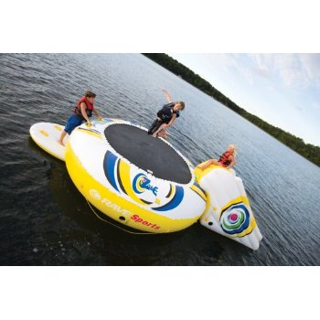 rave o zone inflatable trampoline Inflatable Floating Trampolines