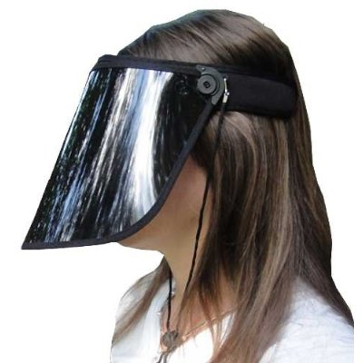 eeef1369 Solar Face Shield Protects You from the Sun, Makes You Look Like ...