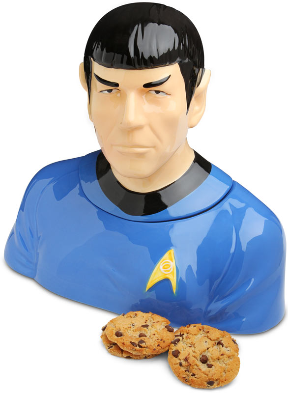 Eat Cookies from Leonard Nimoy's Head