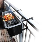 Balcony BBQ Mounts on Railings