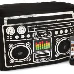 Boombox Speaker Cushion with Light Up Equalizer