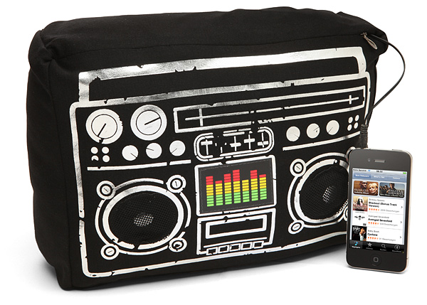 boombox speaker cushion Boombox Speaker Cushion with Light Up Equalizer