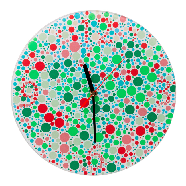 color blind clock Pinboard