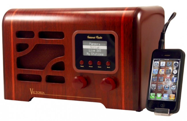 Grace Digital Victoria Internet Radio has Classic Retro Styling