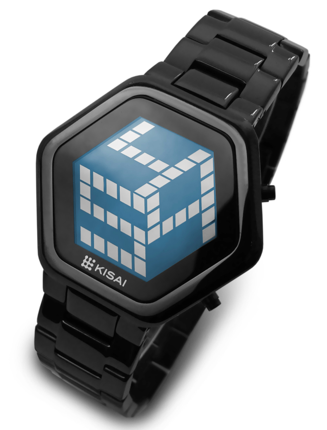 Digital Watches Go 3D with the Tokyoflash Kisai 3D Unlimited LCD Watch