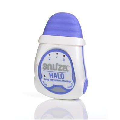 Snuza Halo Infant Breathing and Movement Monitor Clips on to the Baby