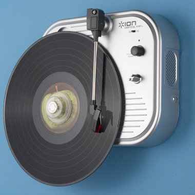 Vertical Turntable Turns the Tables on Records