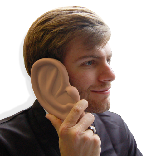 Giant Ear iPhone Case- Can You Hear Me Now?