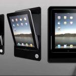 iRoom iDock Motorized In-Wall iPad Mount