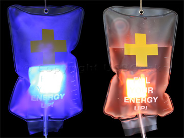 IV Drip USB Light