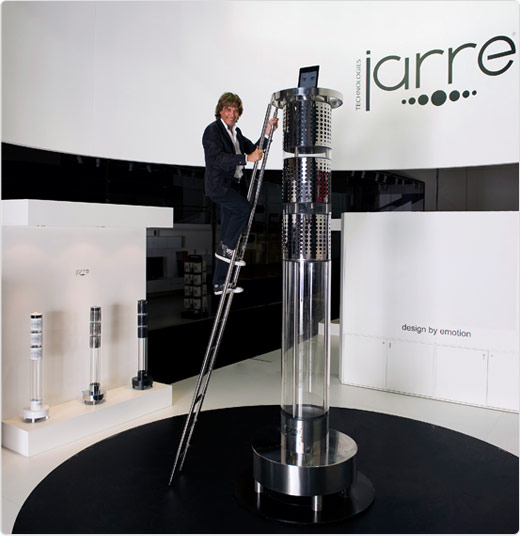 jarre ipod dock AeroDreamOne is an 11 Foot Tall iPod Dock