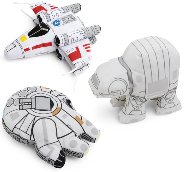 Plush Star Wars Vehicles!