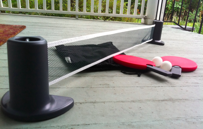 portable ping pong Review: Portable Ping Pong Set