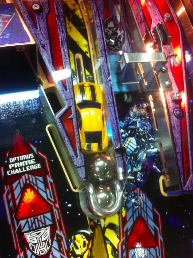 Transformers Pro Pinball Machine Ann…