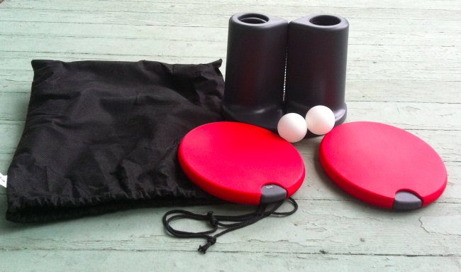 travel ping pong Review: Portable Ping Pong Set