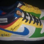 Google co-founder Larry Page Gets His Own Nike Dunk Style (with his face on it!)