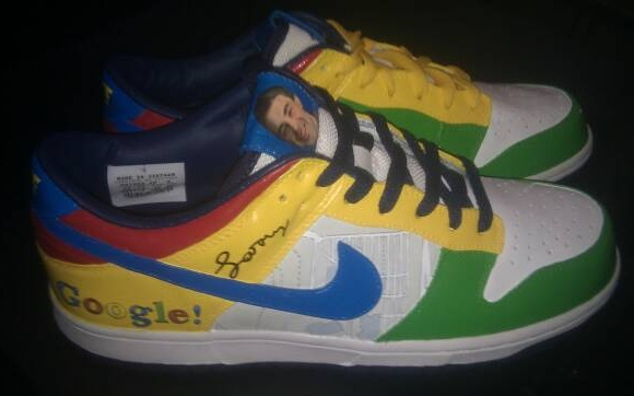 Google x Nike Dunk Low Pinboard