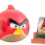 Angry Birds Speakers and Helmet Pig iPod Dock