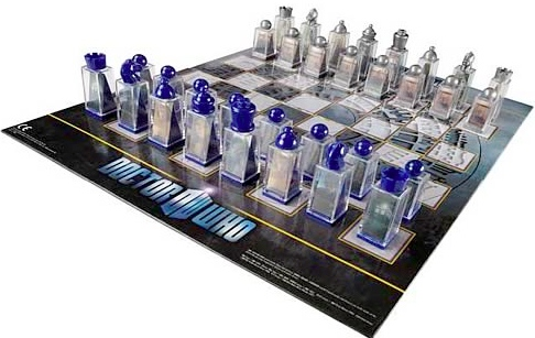 dr who chess Pinboard