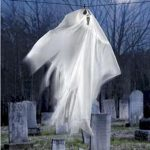 Sound Activated Flying Ghost Decoration Really Flies