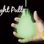 Glow in the Dark Light Bulb Pull