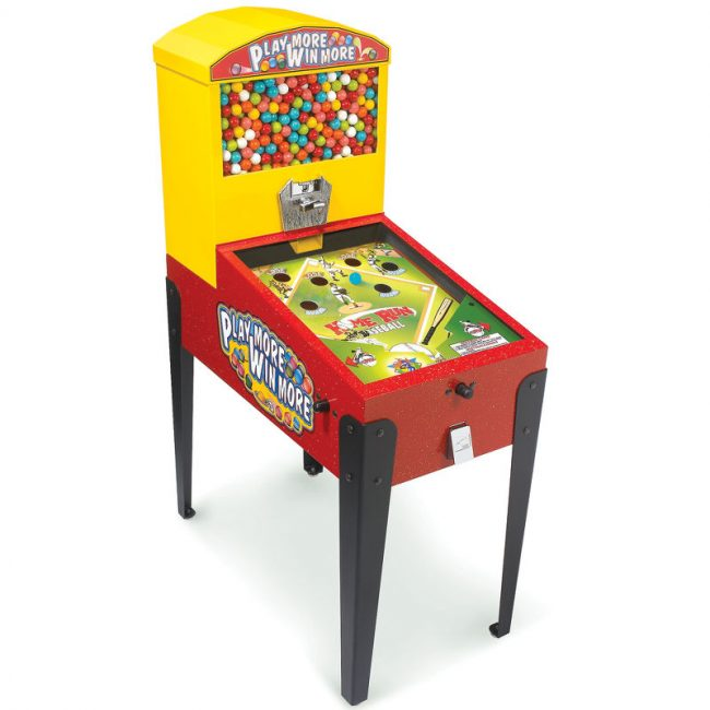 Pinball Gumball Machine