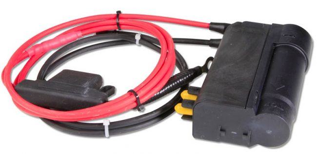 Heated Windshield Washer Fluid System