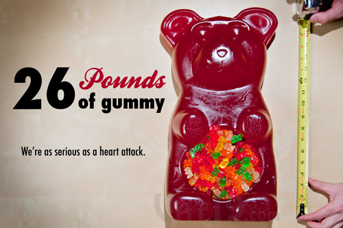 26 Pound Edible Gummy Bear Party Bowl
