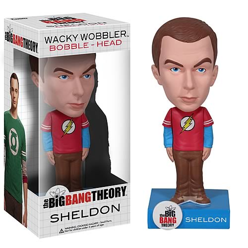 Big Bang Theory Sheldon and Howard Bobbleheads