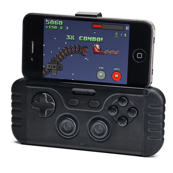 iControlpad Puts Gaming Controls on any Smartphone