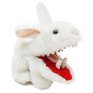 Monty Python Killer Rabbit Plush Toy and Slippers