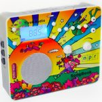 Peter Max Designed iPod Dock and Radio for NPR