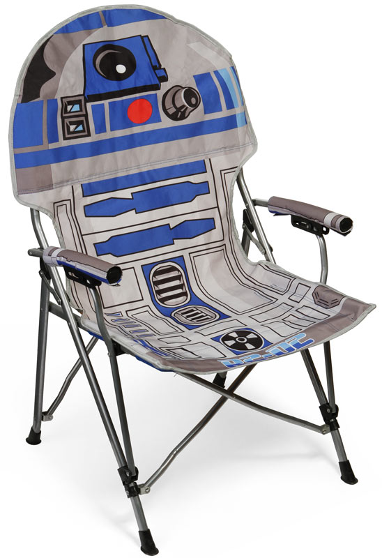 r2d2 camping chair R2 D2 Folding Camping Chair