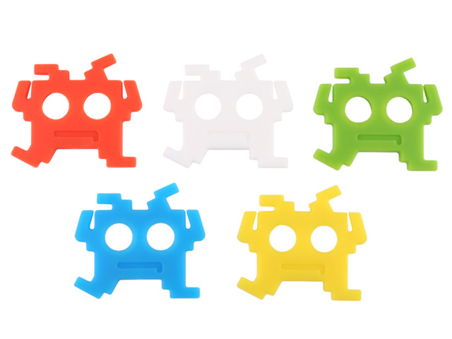 Space Invaders Earphone Holder