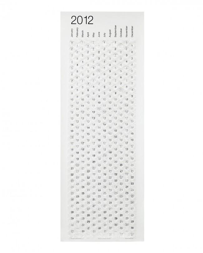 2012 bubble calendar 650x812 Pinboard
