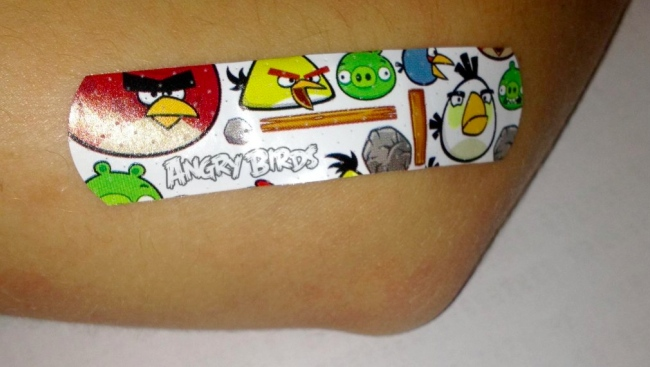 angry birds band aids Ultimate Angry Birds Gift Guide