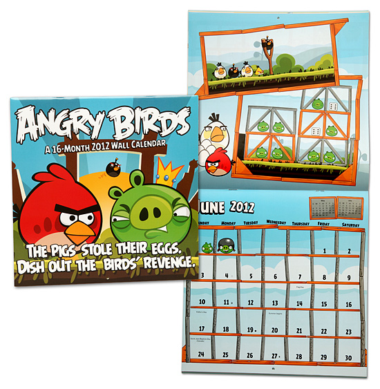 angry birds calendar Ultimate Angry Birds Gift Guide