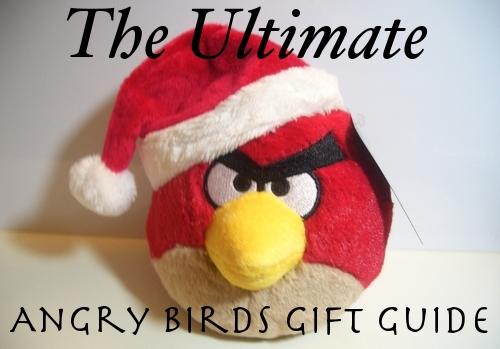 angry birds christmas Ultimate Angry Birds Gift Guide