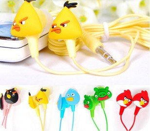 angry birds earphones Ultimate Angry Birds Gift Guide