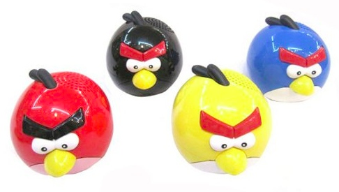 angry birds speakers Ultimate Angry Birds Gift Guide
