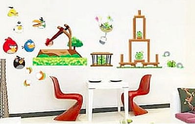 angry birds wall stickers Ultimate Angry Birds Gift Guide