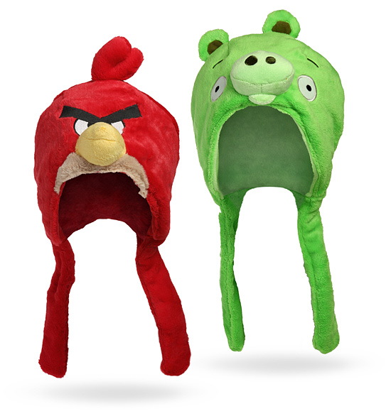 angry birds plush hats Ultimate Angry Birds Gift Guide