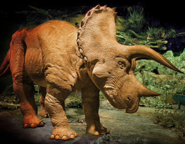 animatronic triceratops 12 Most Outrageous Gifts for the 1%