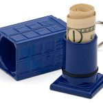 Doctor Who Cash Stash Tardis Keychain