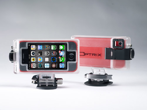 optrix hd camera Optrix HD Sport Mount Turns the iPhone into an Action Sports Camera